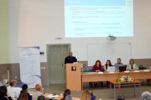 """Информационен семинар по  """"Хоризонт 2020"""" - Гост лектор  Алесандро Амели"""